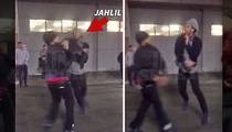 Jahlil Okafor -- 2ND FIGHT IN BOSTON (Video)