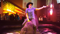 Scott Eastwood -- Slow Ridin' a Mechanical Bull (VIDEO)