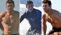 Scott Eastwood -- Surf, Strip, Shop ... The New GTL (PHOTOS)