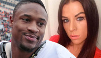 Ex-College Football RB -- HE THREATENED MY LOUBOUTINS ... Wife Claims