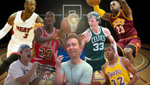 TMZ Staff Picks -- Who's Your Favorite Basketball Player?