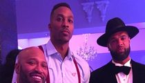 Dwight Howard -- Massive Celeb Mansion Party ... for 30th Bday (Pics & Video)