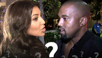 Kim and Kanye -- Name Your Baby ... Or Else!