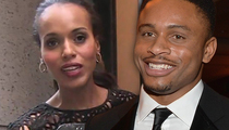 Kerry Washington & Nnamdi Asomugha -- No Divorce ... Still Tight