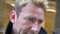 Nickelback's Chad Kroeger Sued -- You Went Silent About Gnarly Throat Condition