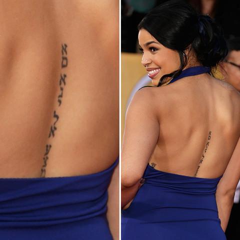 Jordin sparks tattoo