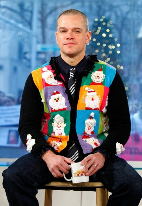 Ugly Christmas Sweater Day: 15 pics of celebrities wearing ...