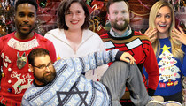 TMZ Staff Pics -- Ugly Holiday Sweater Edition