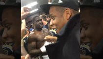Jay Z -- 'BREAK US DOWN HOV' ... Joins Rams Locker Room Celebration