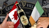 Guinness Beer -- Sued By Angry Customer ... This Stuff's Made In Canada