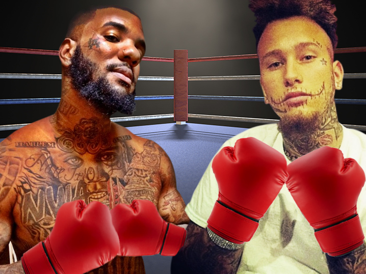 Stitches Meets The Game's Manager (Full Video) - YouTube