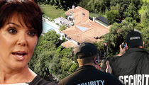 Kris Jenner -- Fires Entire Security Team ... Kanye Takes Over