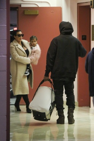 Saint West -- The Family Outing