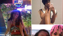 Las Vegas Strip Crash -- Driver in Town Modeling (PHOTOS)