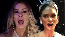 Miss Universe -- Latina Contestants Unite ... Screw Miss Philippines!!!