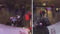 Vegas Strip Crash -- VIDEO Seconds After Impact