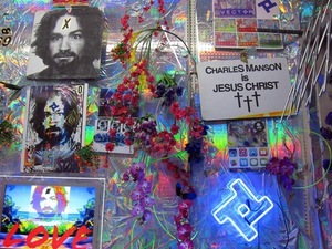 Charles Manson Art Exhibit