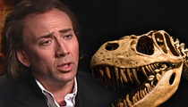 Nic Cage -- My T-Rex Skull Was Stolen?!?!? ... Fine, I'll Give It Back