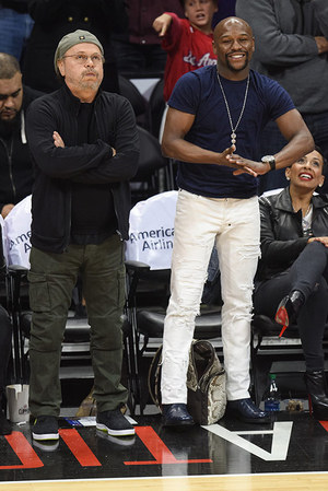 Stars Courtside at the Clippers vs. Thunder Game