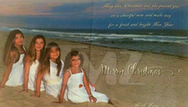 Giudice XMAS Card - Mommy's In the Big House ... But We're Here!