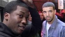 Meek Mill -- No Plans to Shoot Drake ... It's Just Rap (VIDEO)