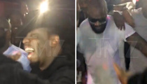 Rick Ross -- Poppin' Bottles With Diddy & Co. for Album Release Party (VIDEO)
