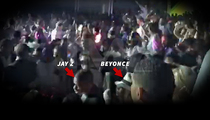 Jay-Z and Beyonce-- Just 2 In Massive Dominican Republic Rager