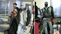 Jason Derulo & Daphne Joy -- The Couple That Flies Together ... (VIDEO)