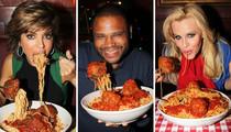 Saucy Celebrity Snapshots to Celebrate National Spaghetti Day