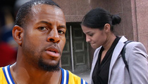 Andre Iguodala -- In Court for Baby Mama Showdown ... Where's My Money Going?