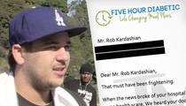Rob Kardashian -- Diabetes Co. Wants to Make Him Healthy and Rich