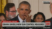 President Obama -- Teary and Angry ... Guns are Killing Our Children (VIDEO)