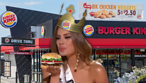 Miss Colombia -- Burger King Wants to Crown Her