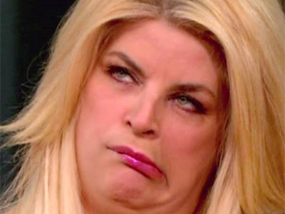 Scientologist Kirstie Alley Has Us All Pretty Concerned: What the HELL is Going ON Here?!