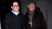 J.J. Abrams to Steven Spielberg -- Thanks for that Job Reference!!!  (PHOTO)