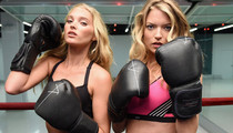 Victoria's Secret Models Boxing -- See The Total Knockouts