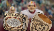 Mark Rypien -- Super Bowl Ring Hits Auction Block