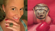 Ex-Diva Tammy Sytch -- So Done with WWE ... You Can Have My Hall of Fame Ring! (PHOTOS)