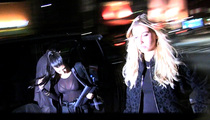 Kourtney Kardashian, Kendall Jenner, Hailey Baldwin -- Bieber's Conquests Party Together