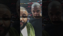 DJ Khaled & Jay Z -- Power Summit with Huge Stars ... At Clippers Game