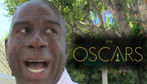 Magic Johnson -- Oscars Screwed Black People ... Will, Idris, Sam