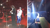Lil Wayne -- Walks Off Stage In Milan ... But Not Because Of Crowd (UPDATE)