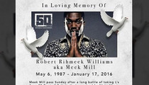 50 Cent -- Meek Mill's Obit ... Is Hysterical!