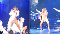 Jennifer Lopez -- First Video Inside Las Vegas Show ... No Lip Sync, No Problems (VIDEO)