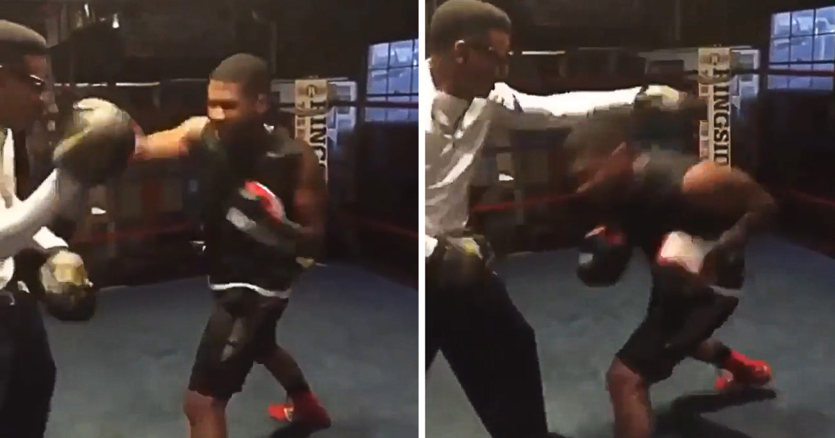 Usher: Packs A Mean Punch … Just Like Sugar Ray