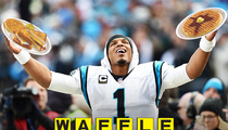 Carolina Panthers -- HUGE WAFFLE HOUSE Breakfast ...