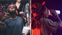 Lil Wayne -- Out Of Control ... Sizzurp Relapse (PHOTOS)