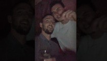 Johnny Manziel -- Hangs with Dallas Sports Stars ... At Mike Stud Concert (VIDEO)