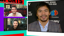 Manny Pacquiao -- I Might Run for President ... 'You Never Know' (VIDEO)