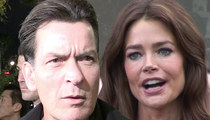 Denise Richards -- Charlie Sheen Has Cut My Kids Off ... And Called Me and My Kids Horrible Names
